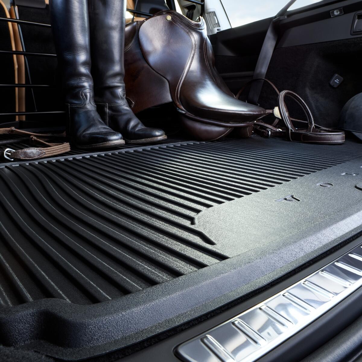Gumena zaštita za pod prtljažnika, crna, vozilo sa 7 sjedala