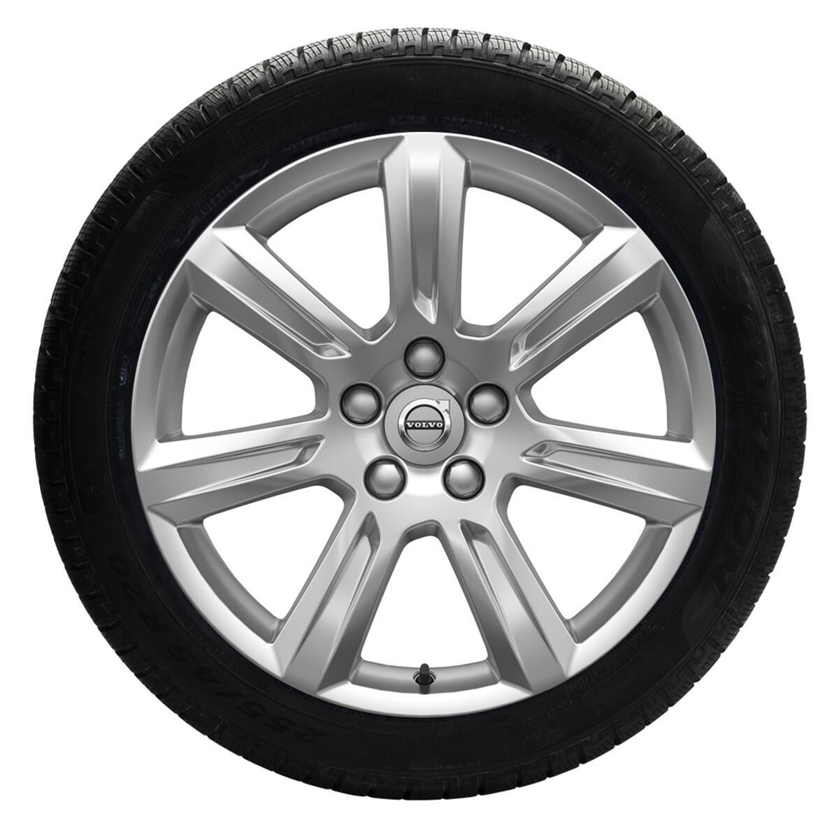 """Komplet zimskih kotača: 225/55 R17; 17"""", naplatci sa 7 krakova, srebrni; gume Pirelli"""