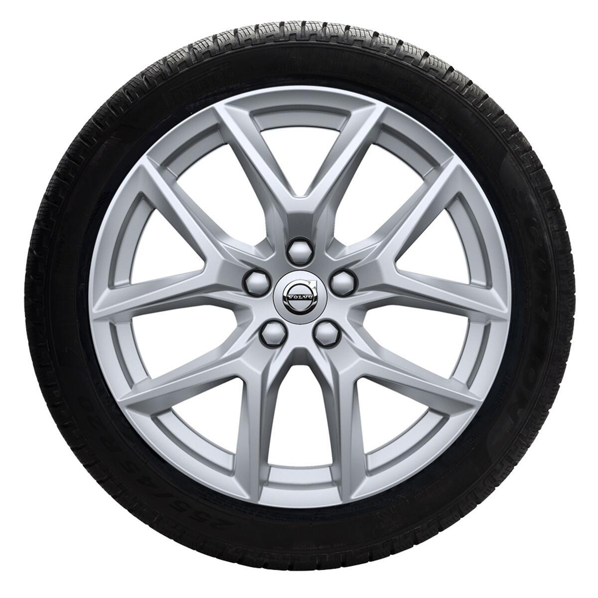 "Komplet zimskih točkova 18"" naplaci s 5-Y krakova srebrni, pneumatici Pirelli"