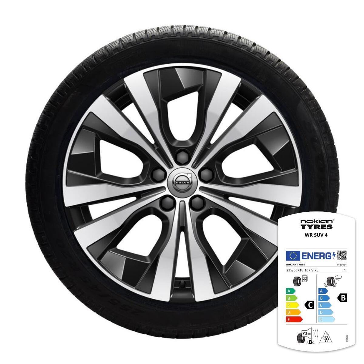 komplet zimskih kotača: 18'', gume  Nokian