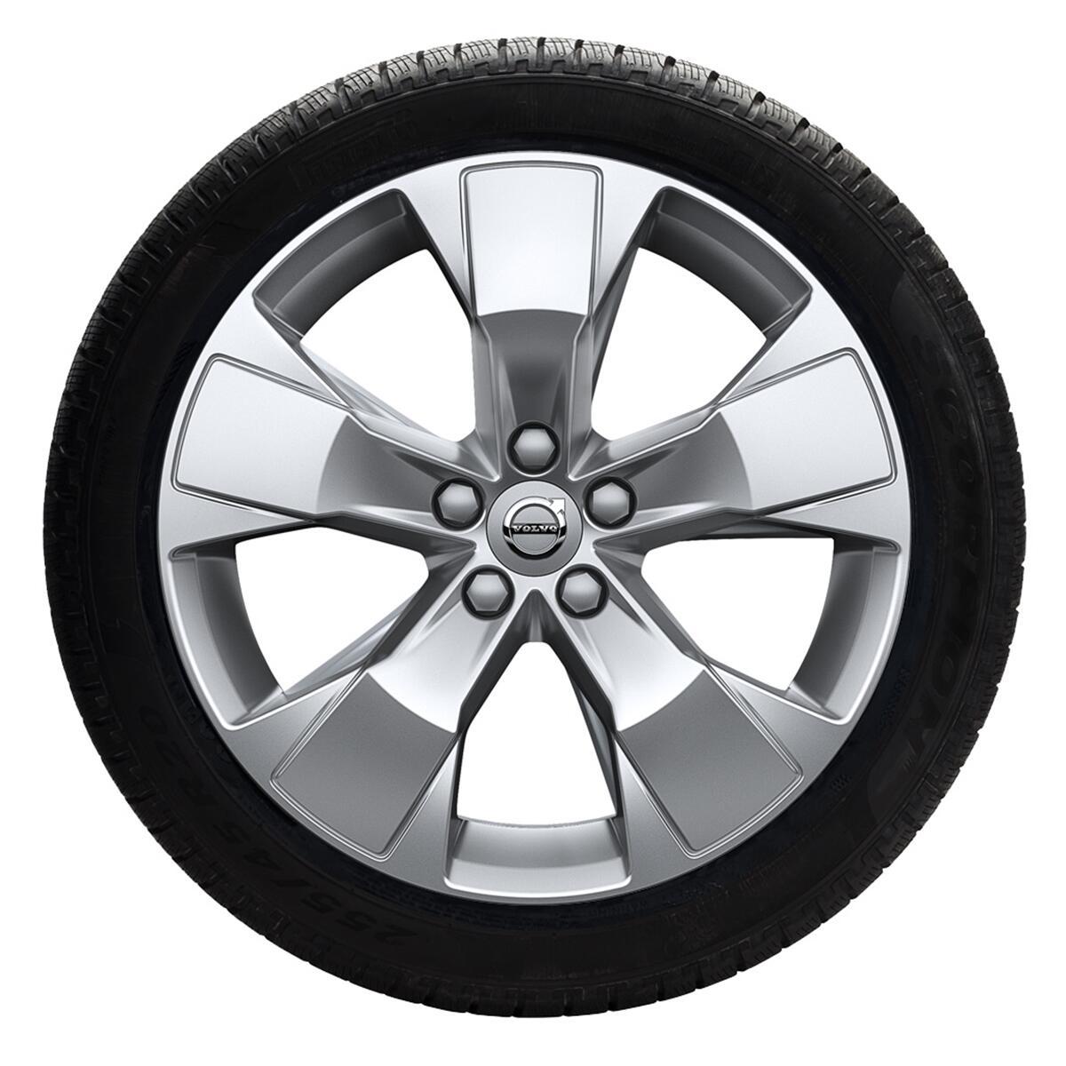 """Komplet zimskih točkova: 235/55 R18; 18"""", naplaci sa 5 krakova, srebrni; pneumatici Pirelli, Scorpio"""