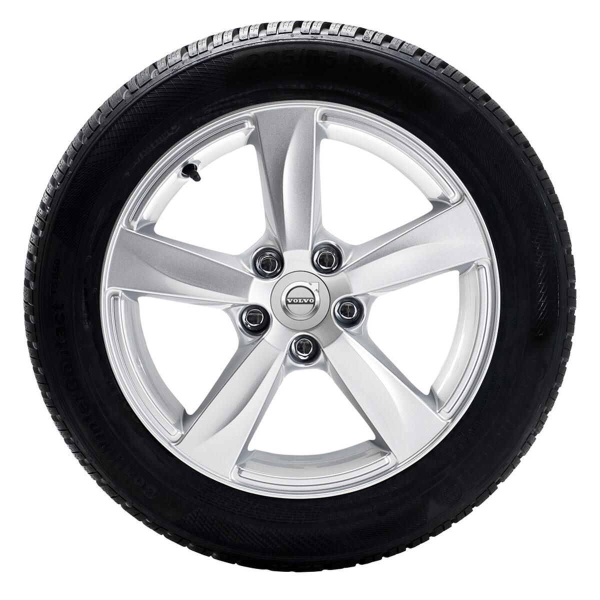 """Komplet zimskih kotača 205/55 R16; naplatci Maters 16""""; gume Pirelli"""