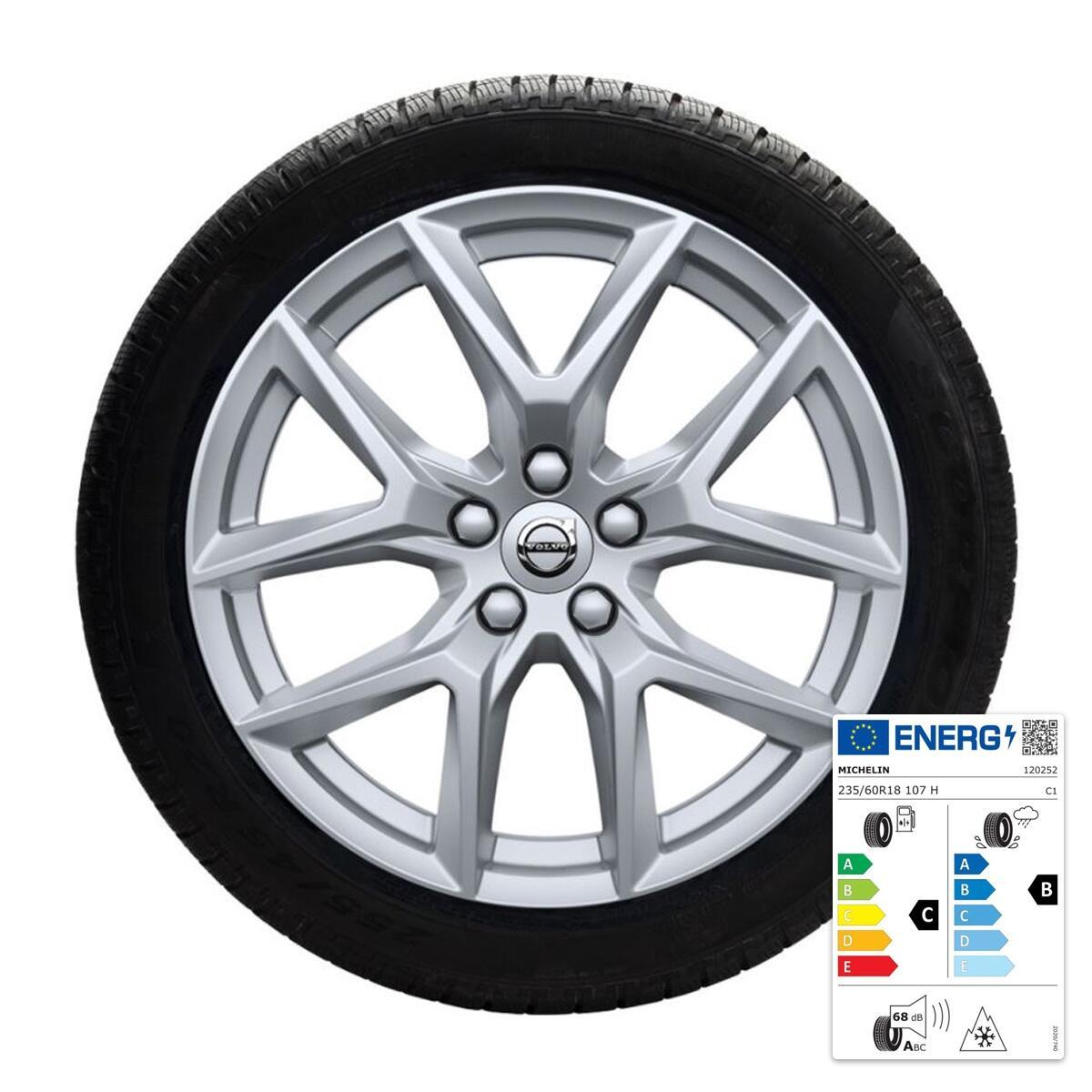Komplet zimskih koles: 45,70 cm (18''), pnevmatike Michelin