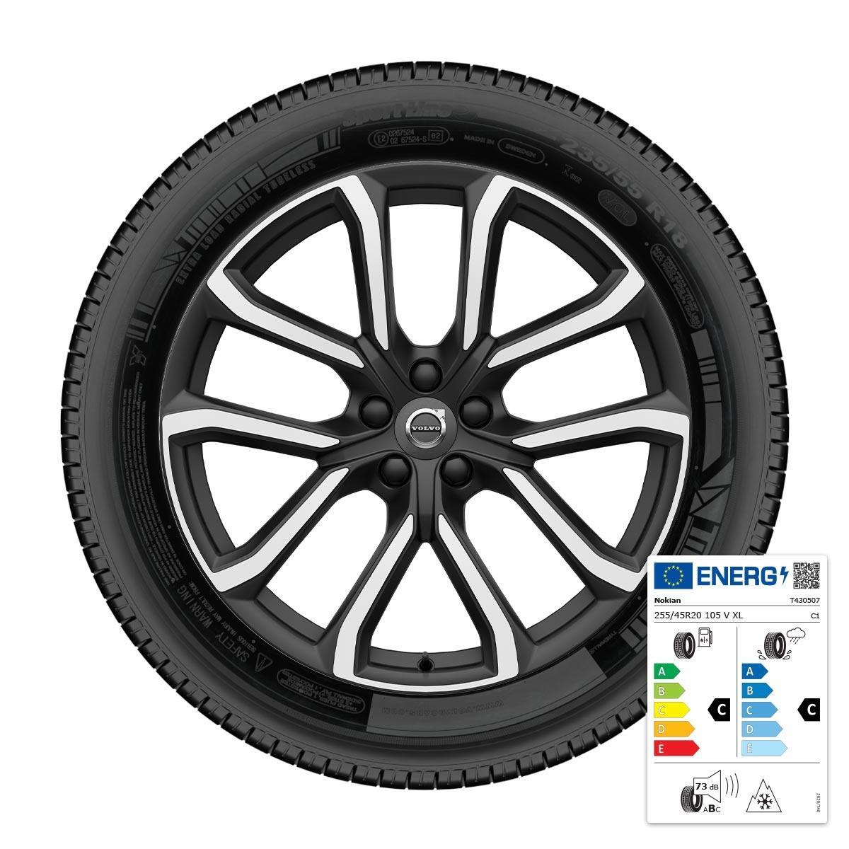 """komplet zimskih kotača 20"""": gume Nokian"""