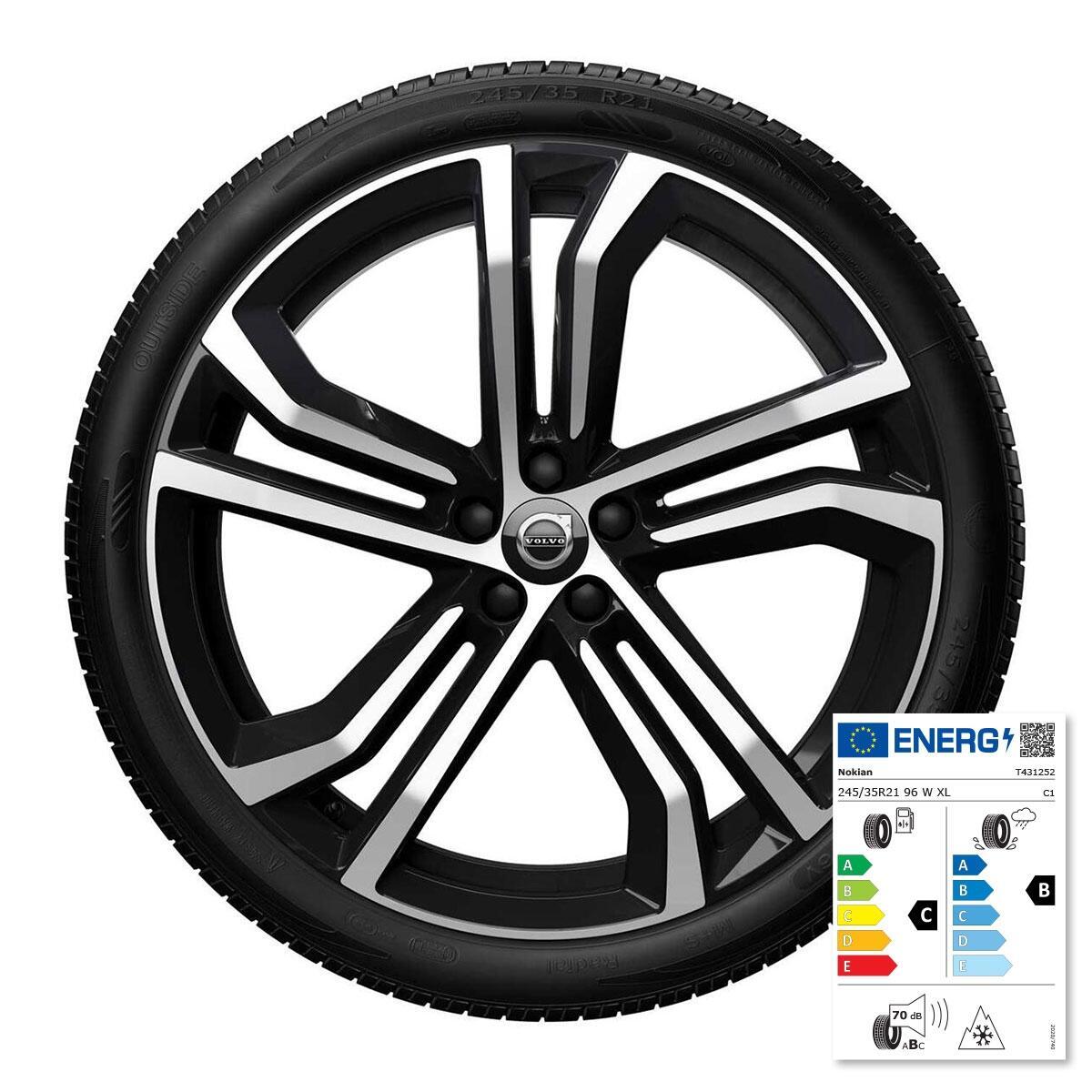 """Komplet zimskih kotača: 21"""". gume Nokian"""