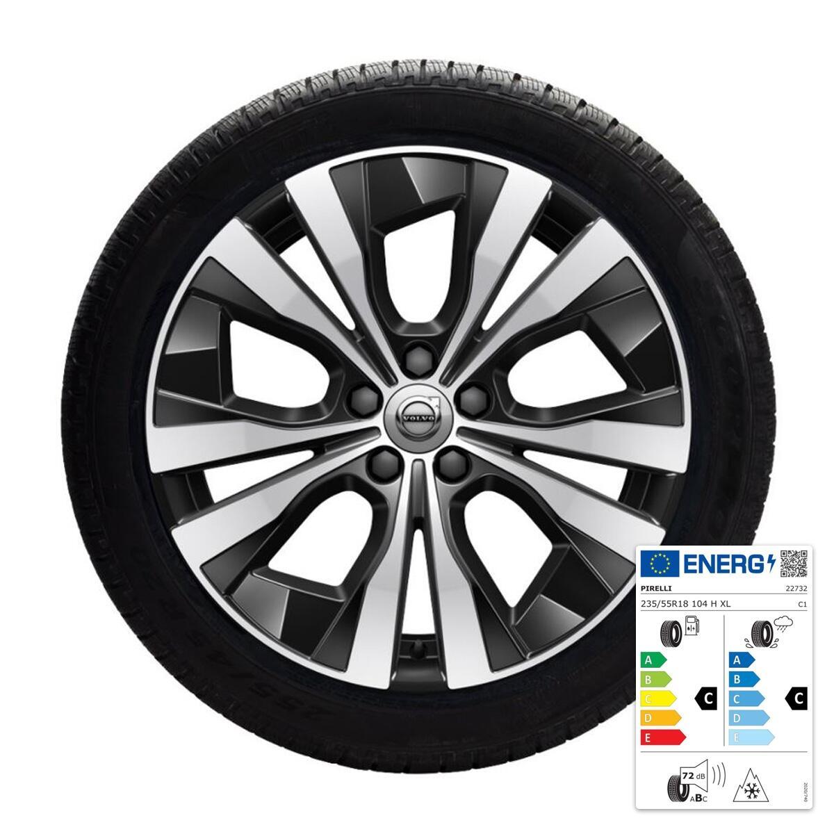 """Komplet zimskih koles:  45,70 cm (18""""), pnevmatike  Pirelli"""