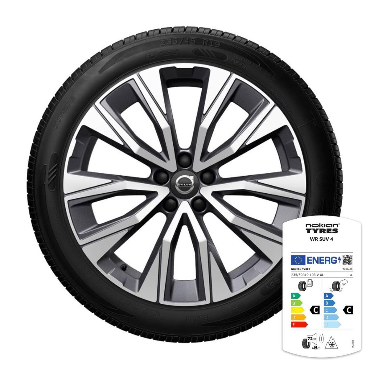 Komplet zimskih kotača: 19'', gume Nokian