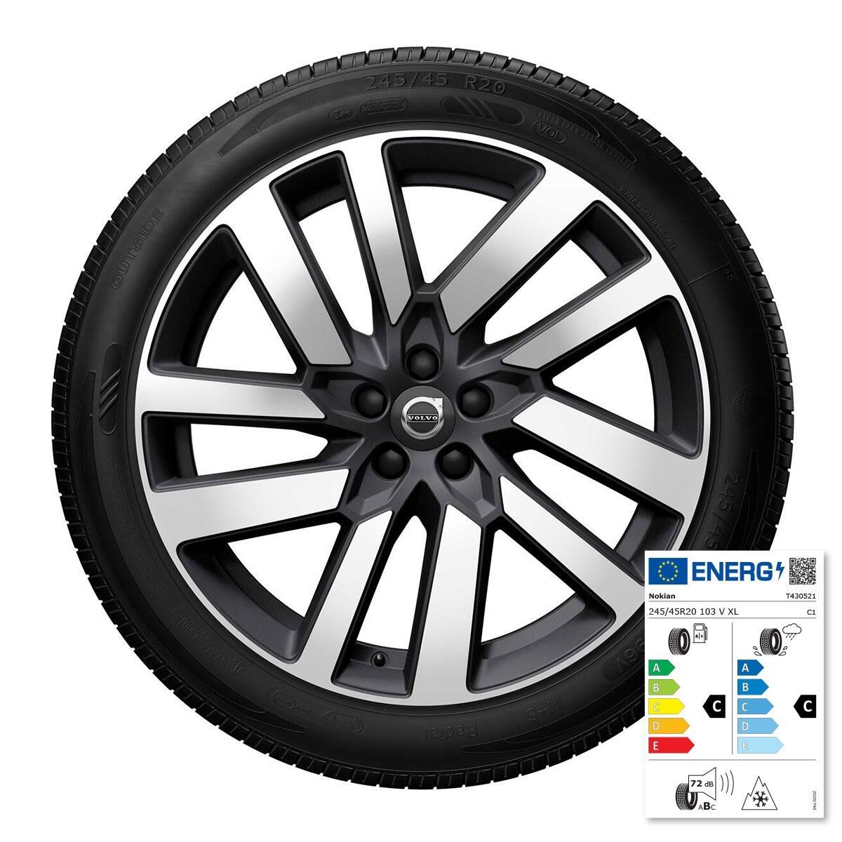 """Komplet zimskih kotača: 20"""", gume Nokian"""