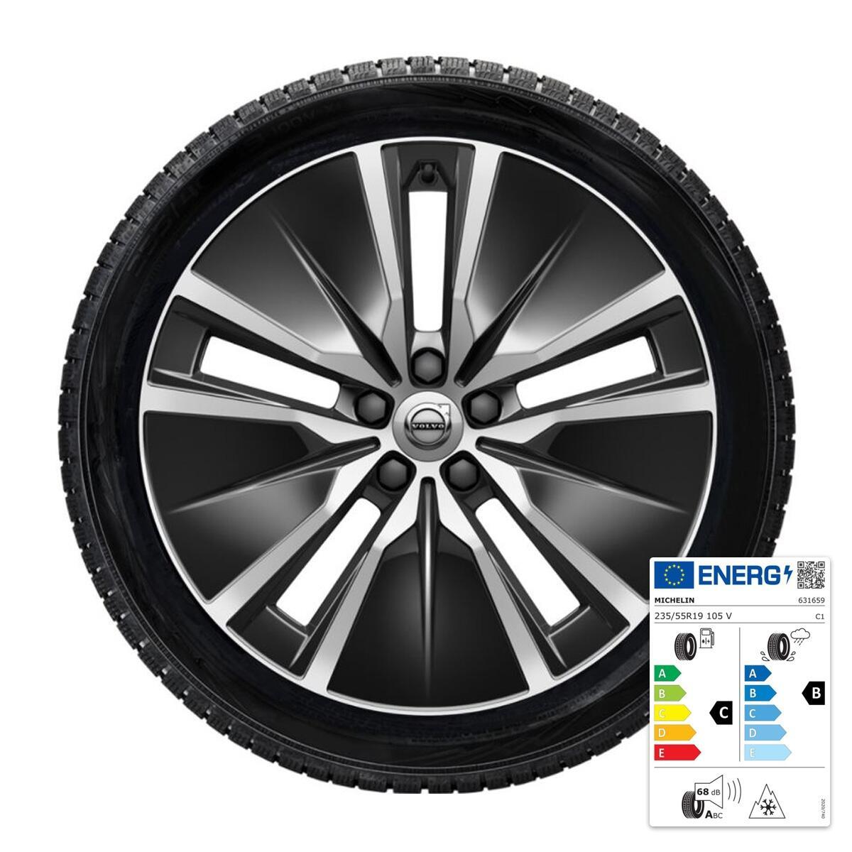 Komplet zimskih točkova:  19'', pneumatici Michelin
