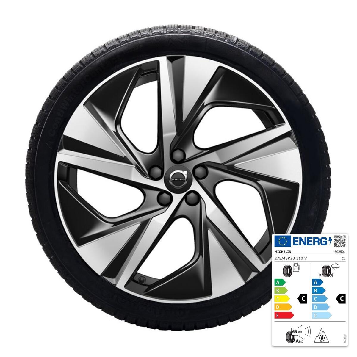 """Komplet zimskih kotača:  20"""", gume Michelin"""