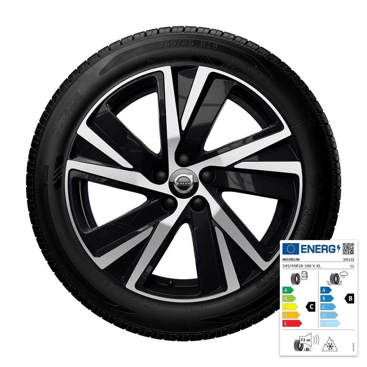 """Komplet zimskih kotača: 18"""", gume Michelin"""
