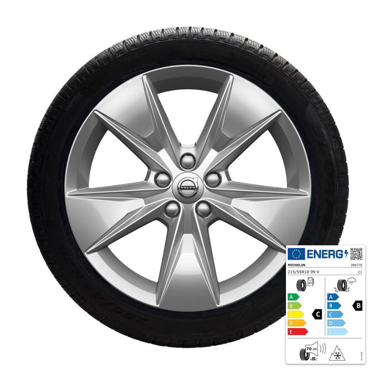 "Komplet zimskih koles:  45,70 cm (18""), pnevmatike Michelin"